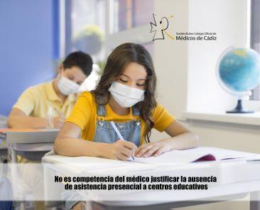 justificante medico ausencia niño colegio