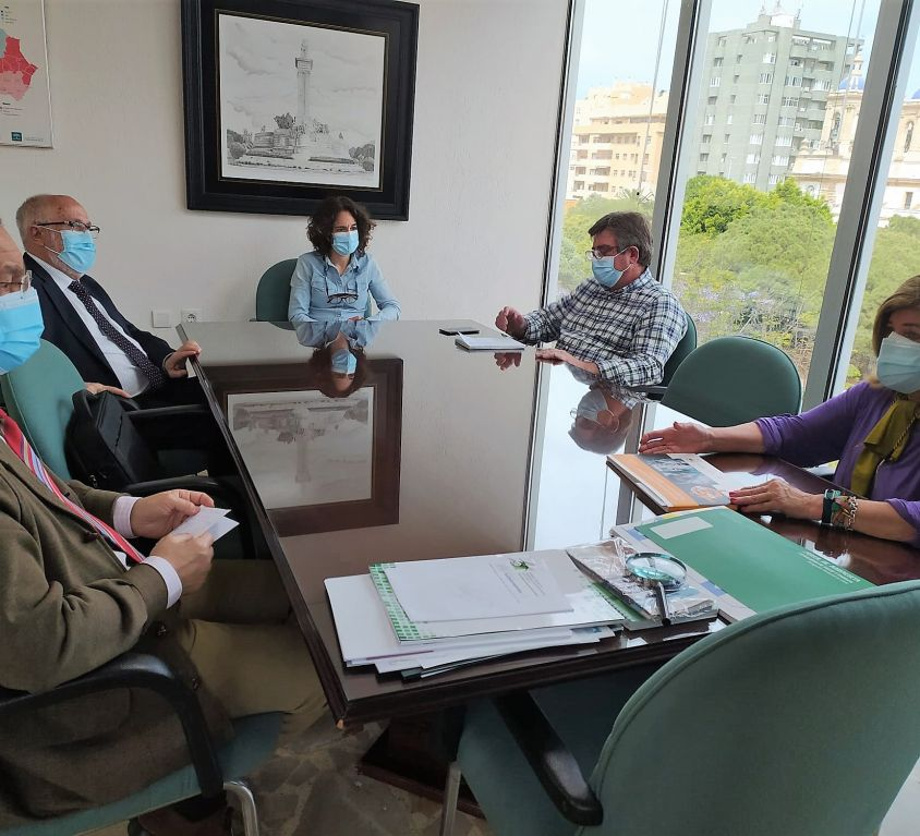 Reunión Colegio de Médicos may 21