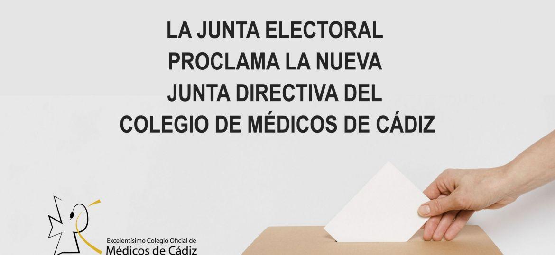 CARTEL ELECCIONES COMCADIZ nueva junta 2